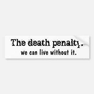 Dödsstraff Bildekal