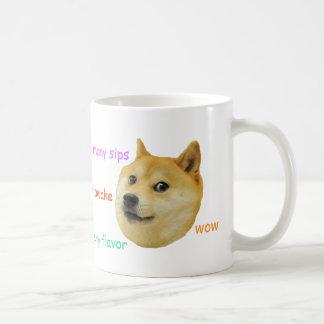 Dogekaffemugg Vit Mugg