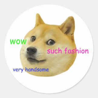 DogeMeme Reddit klistermärke