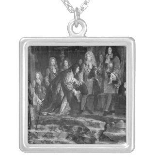 Dogen av Genoa Silverpläterat Halsband