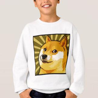 Dogen Meme kvadrerar Dogesjälvporträtt T-shirts