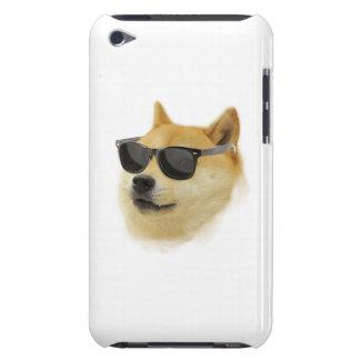 Dogen skuggar in det mobila fodral iPod touch case