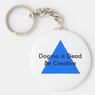 Dogm är död är idérik de MUSEUMZazzle gåvorna Nyckelringar