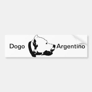 Dogos bildekal