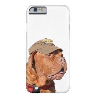 Dogue de Bordeaux, fransk Mastiffhund i hatt Barely There iPhone 6 Skal