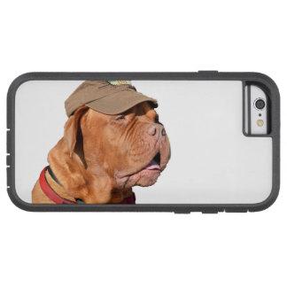 Dogue de Bordeaux, fransk Mastiffhund i hatt Tough Xtreme iPhone 6 Fodral