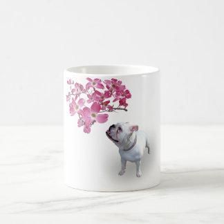 Dogwood och bulldogg kaffemugg
