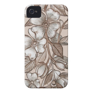 Dogwoodblackberry boldfodral iPhone 4 Case-Mate skydd