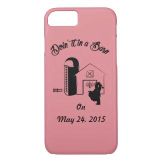"""""""Doin det iphone case i för en ladugård"""""""