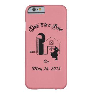 """""""Doin det iphone case i för en ladugård"""" Barely There iPhone 6 Fodral"""