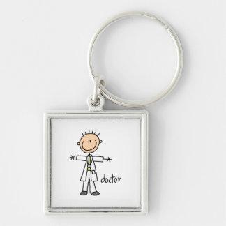 Doktorstick figur nyckelring
