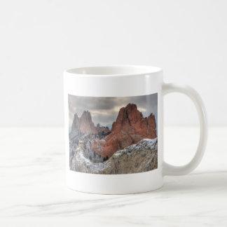 Dolda monoliter 01 för snö kaffemugg