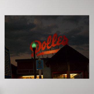Dolles på natten poster