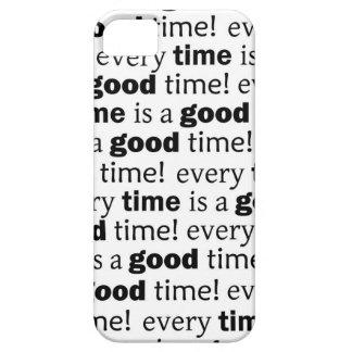 döma: varje tid är en bra tid iPhone 5 hud