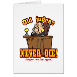 Domare Hälsningskort