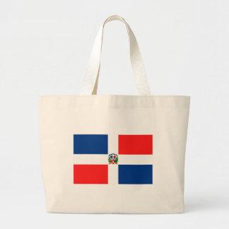 Dominikansk flagga tygkassar