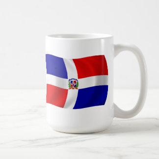 Dominikanska republiken flaggamugg kaffemugg