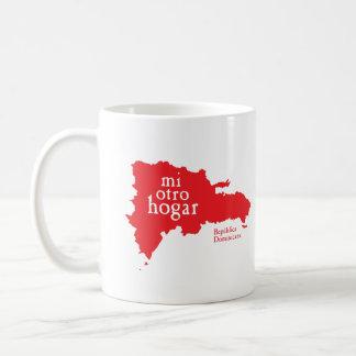 DOMINIKANSKA REPUBLIKEN för klassikervitmugg Kaffemugg