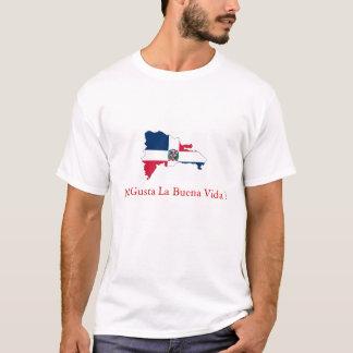 Dominikanska republiken mig Gusta La Buena Vida Tshirts