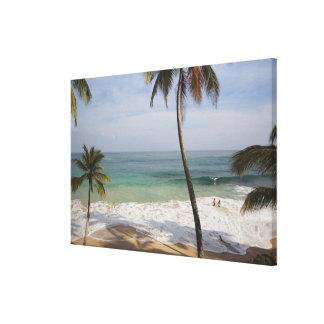 Dominikanska republiken norr kusten, Abreu, Playa Canvastryck
