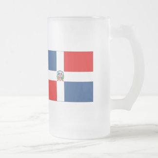Dominikanska republiken sjunker frostat ölglas