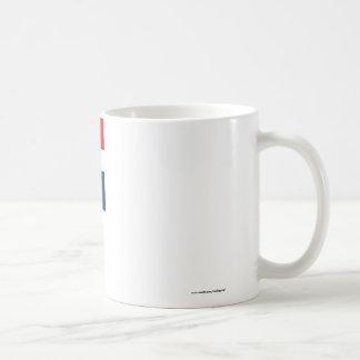 Dominikanska republiken sjunker kaffemugg