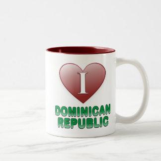 Dominikanska republiken Två-Tonad mugg
