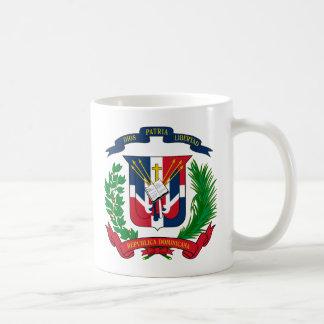 Dominikanska republiken vapensköldmugg kaffemugg