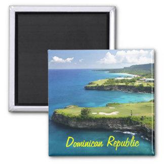 Dominikanska republikenmagnet magnet
