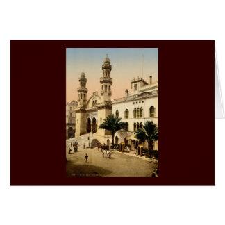 Domkyrka Algiers Algeriet Hälsningskort