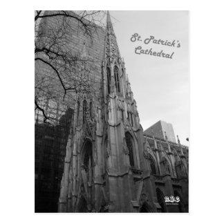Domkyrka för N.Y.E St Patrick Vykort