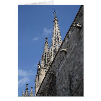 Domkyrka för St Eulalia, Barcelona Hälsningskort