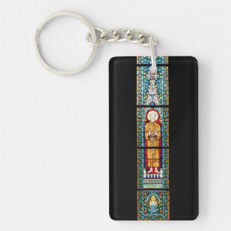 domkyrka Matthias för målat glassbudapest religion Nyckelring