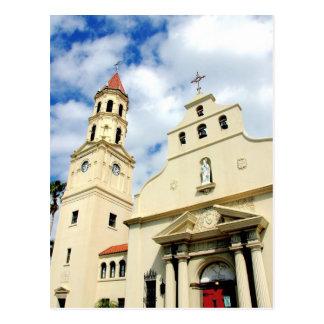 DomkyrkaBasilica St Augustine Florida Vykort
