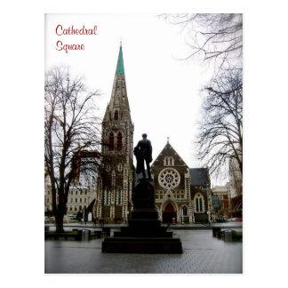 Domkyrkan kvadrerar vykort