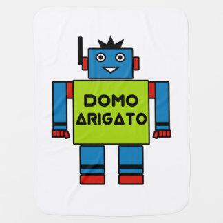 Domo Arigato Herr Roboto babyfilt