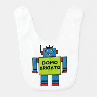 Domo Arigato Herr Roboto babyhaklapp Hakklapp