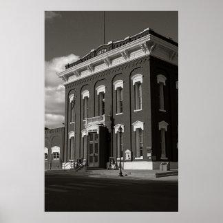 Domstol Eureka, Nevada Poster