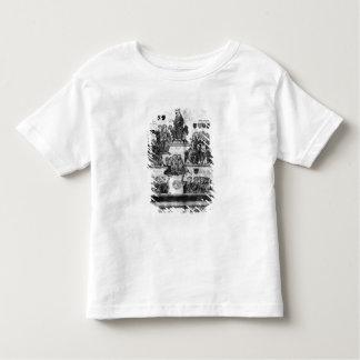 Domstolen av jämlikena tee shirts