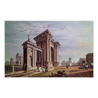 Domstolsbyggnadgata, Calcutta Poster