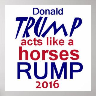 Donald Trump 2016 affisch