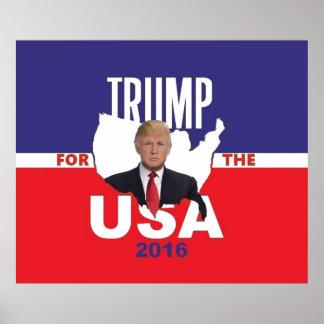 Donald Trump 2016 tryck