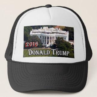 Donald Trump 2016 & Vita hus Truckerkeps
