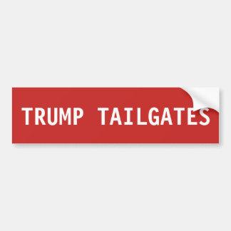 Donald Trump bakluckabildekal Bildekal
