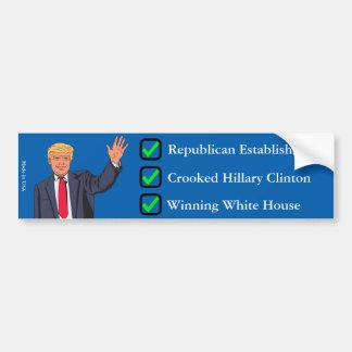 Donald Trump bildekal