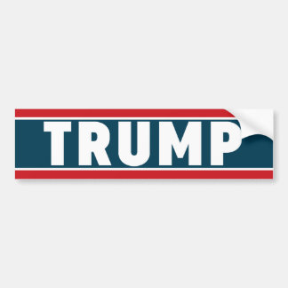 Donald Trump bildekal 2016
