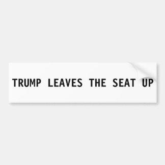 Donald Trump bildekal - löv placera upp
