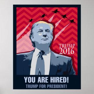 Donald Trump för affisch för president 2016