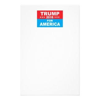 Donald Trump för Amerika Brevpapper