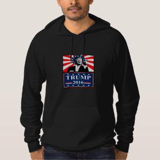 Donald Trump för den presidentHoodiesvarten 2016 Sweatshirt